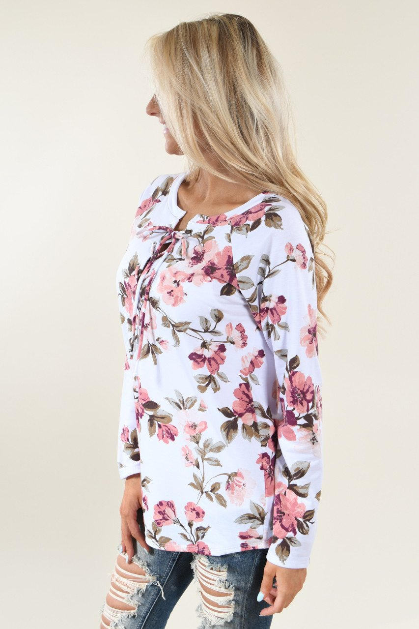 Romance is the Name Floral Top