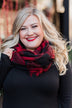 Infinity Scarf- Buffalo Plaid