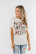 Wife, Mom, Boss Graphic Tee- Cream