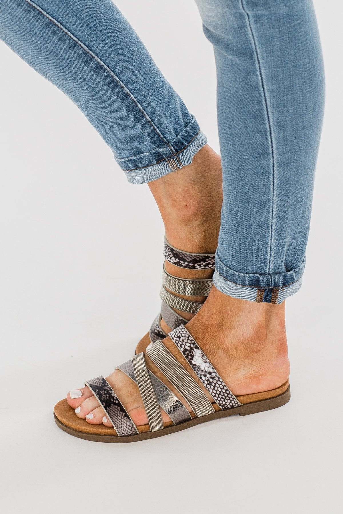 Very G Ginger 2 Sandals- Pewter