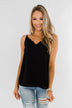 Have Me Hypnotized Tank Top- Black