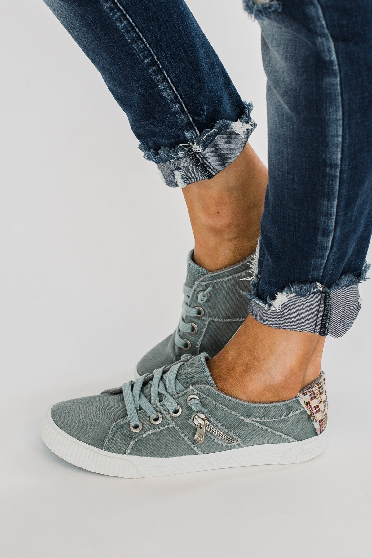 Blowfish Fruit Sneakers- Dusty Blue Smoked