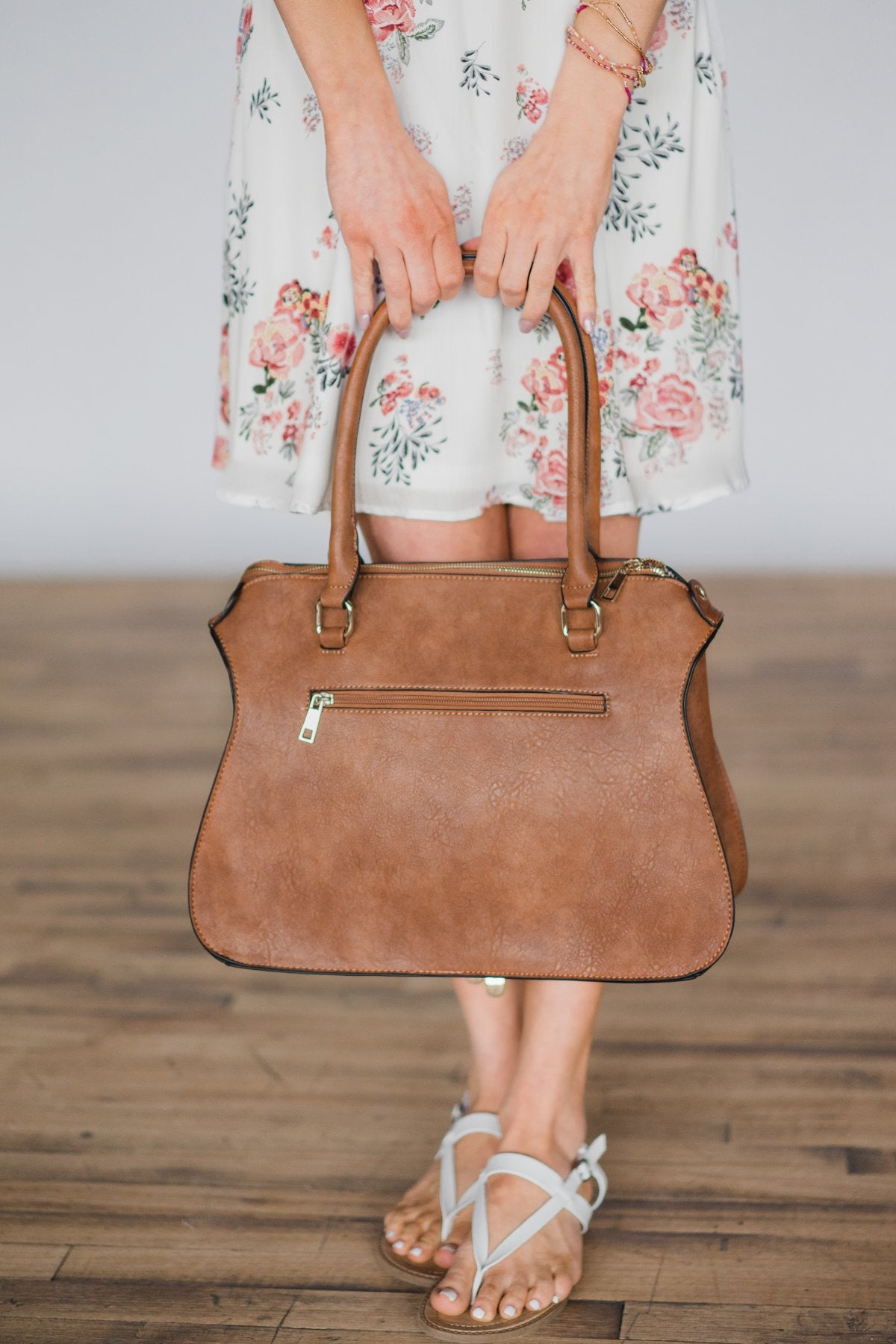 On the Go Brown Purse
