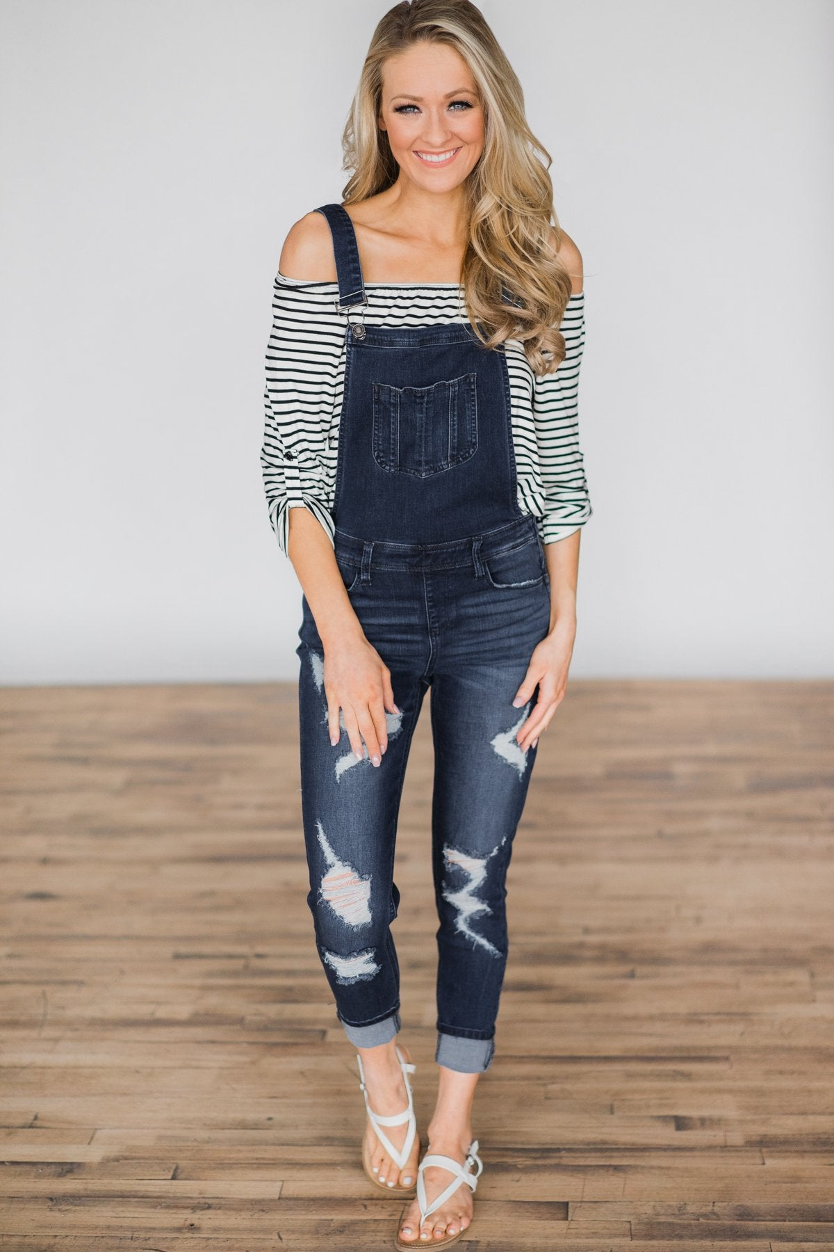Kan Can Overalls- Dark Wash Amber Wash