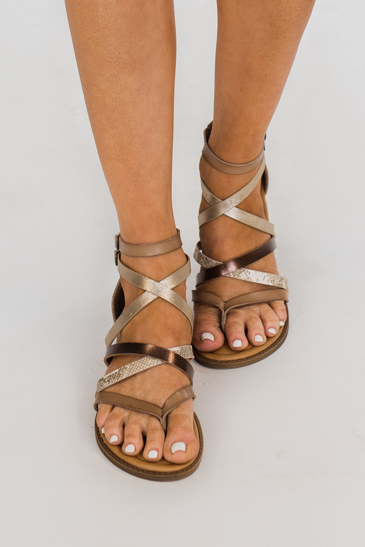 Blowfish Bungalow Sandals- Sand Amber