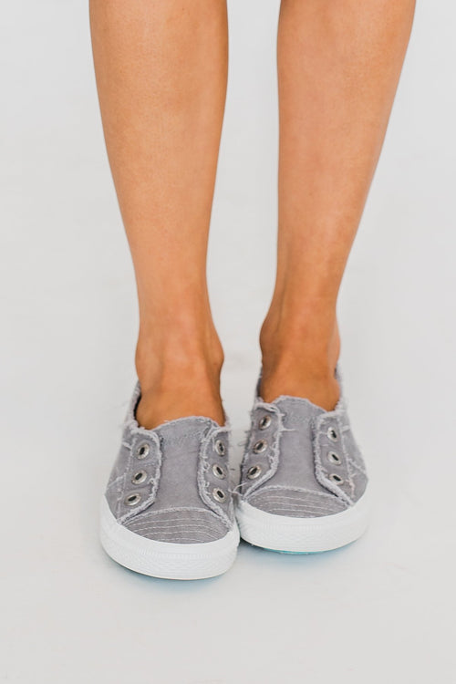 Blowfish Aussie Sneakers- Dirty Gray Smoked