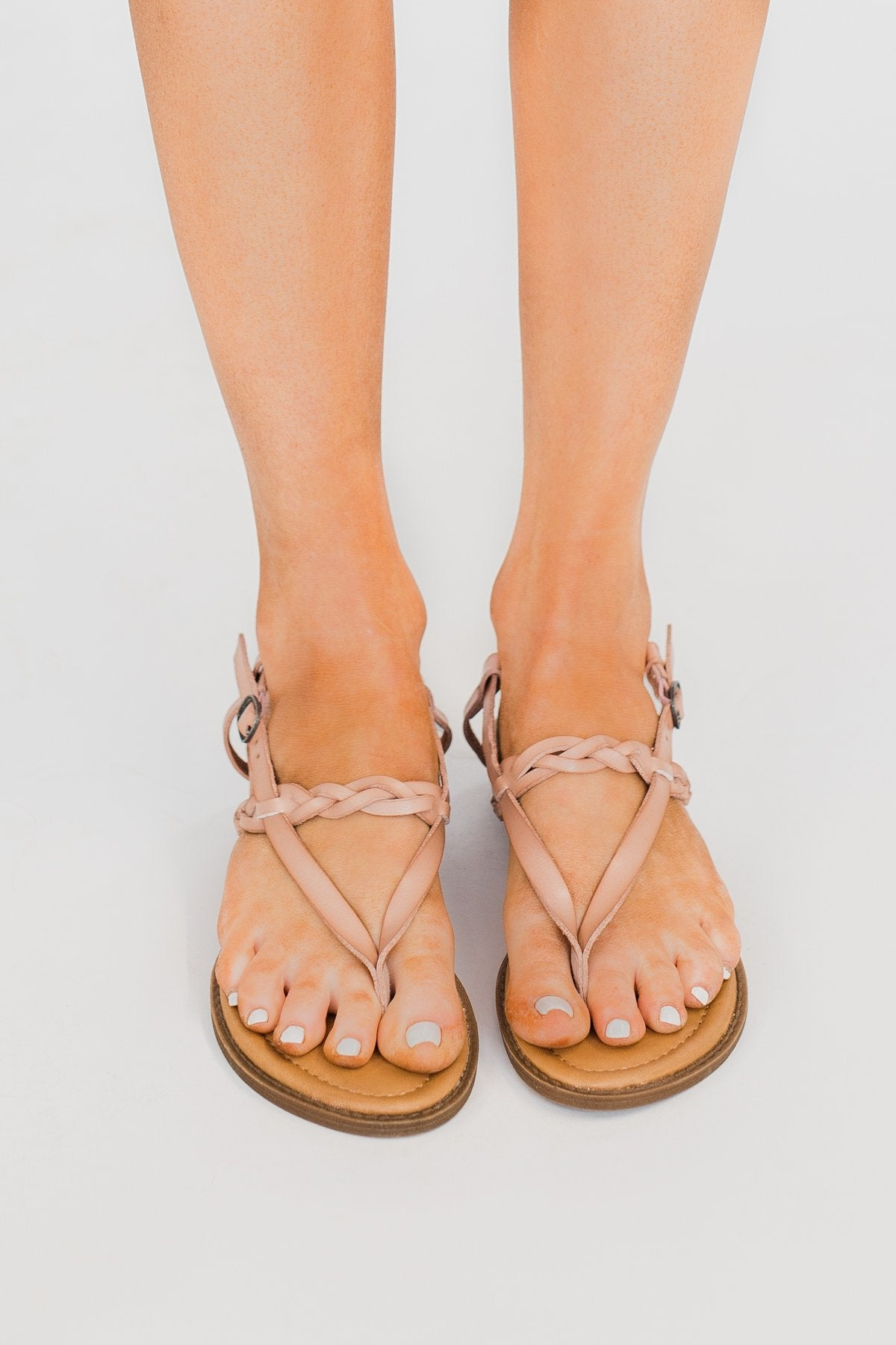 Blowfish Berg-B Sandals- Blush