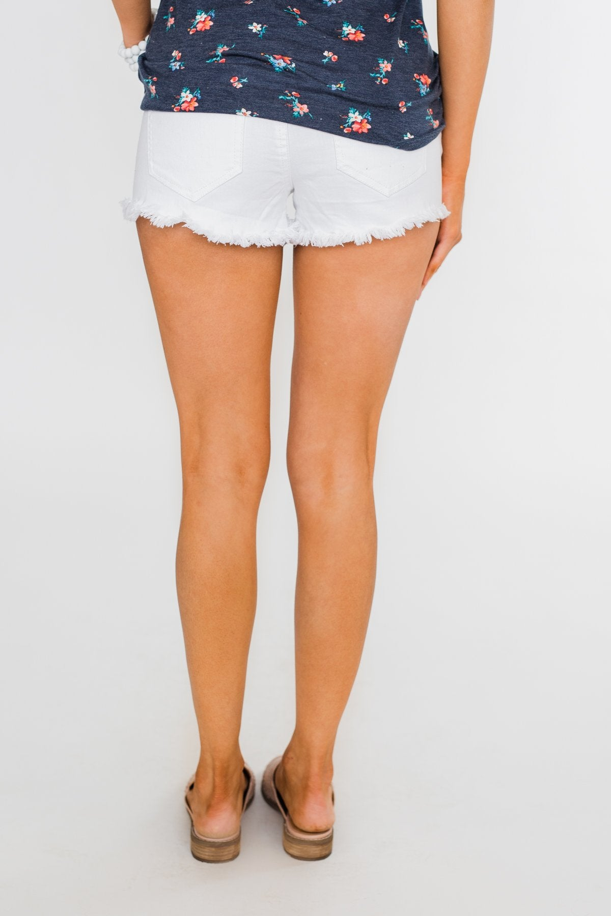 Celebrity Pink Bella Shorts- White
