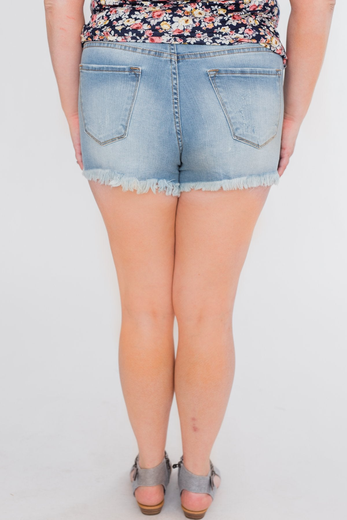 KanCan Shorts- Delilah Wash