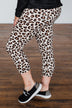 On The Way Leopard Leggings- Ivory