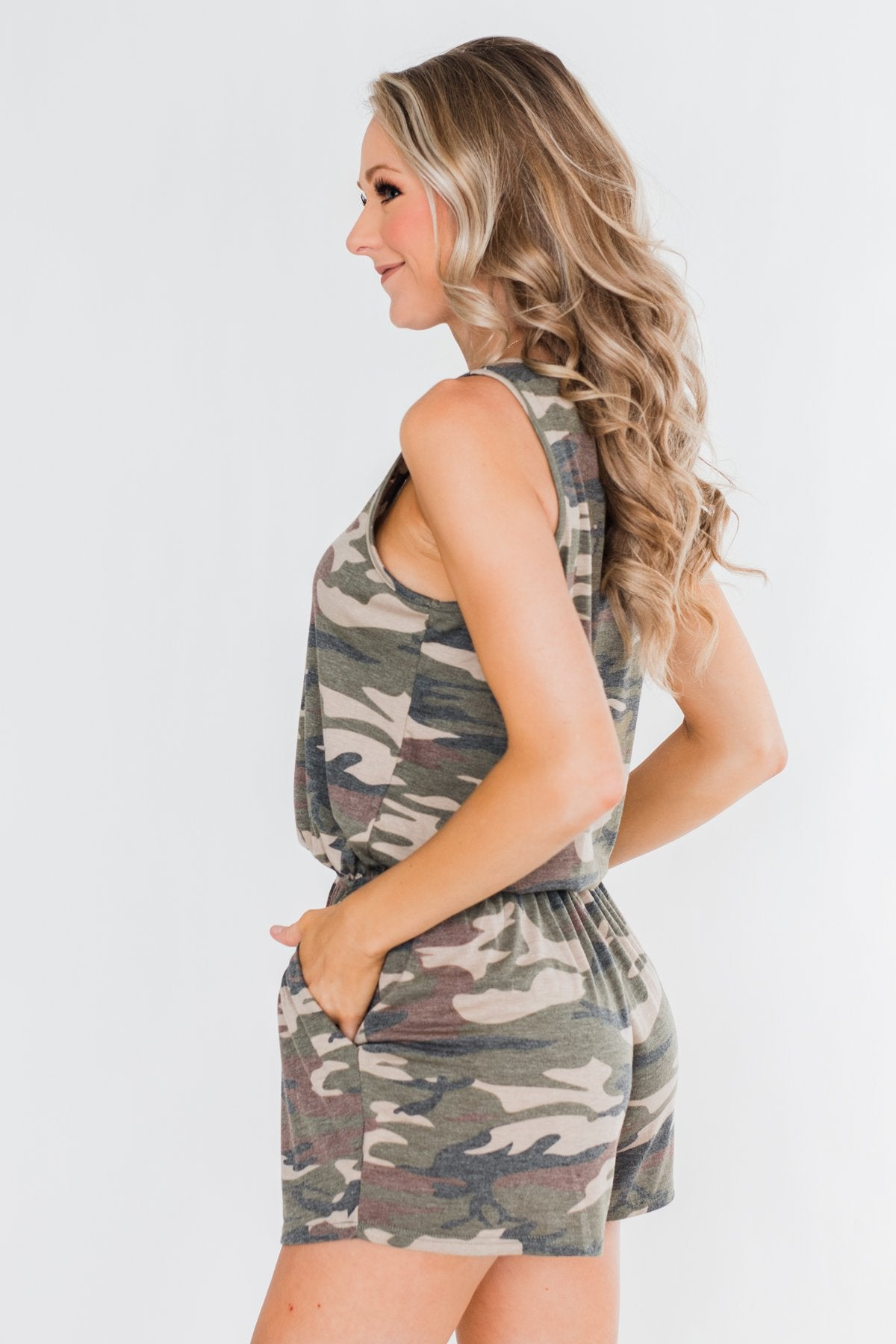One Of A Kind Camo Romper