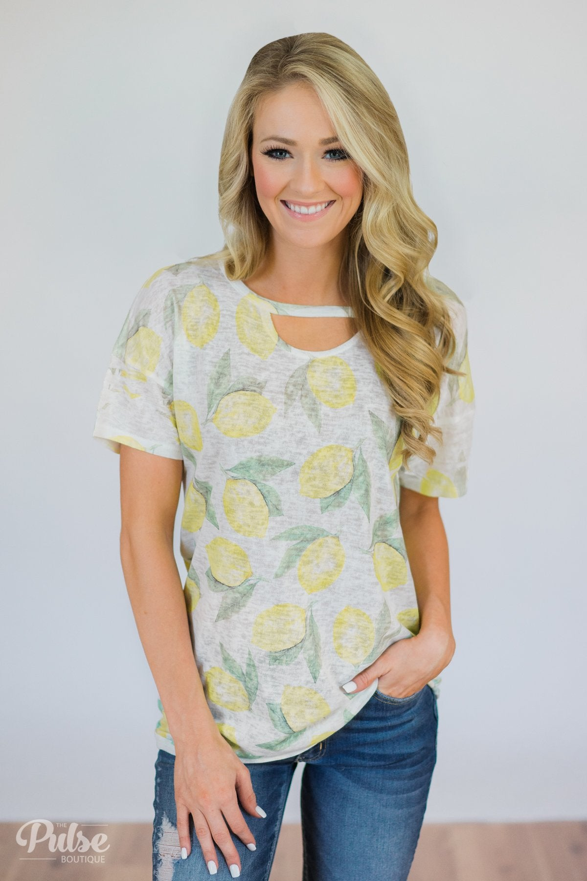 More of Summer Pineapple Top- Charcoal