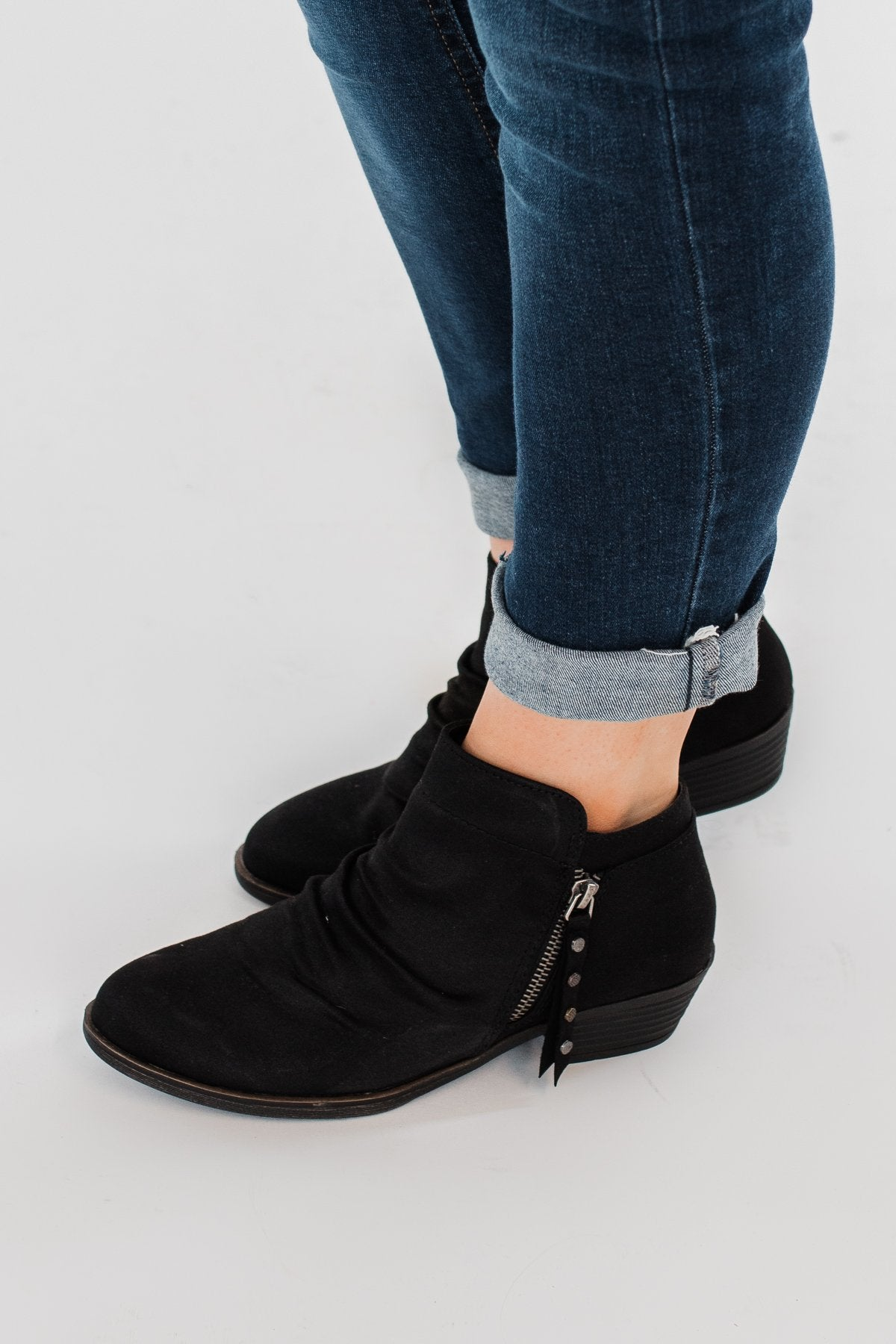 Rampage Wallace Booties- Black – The