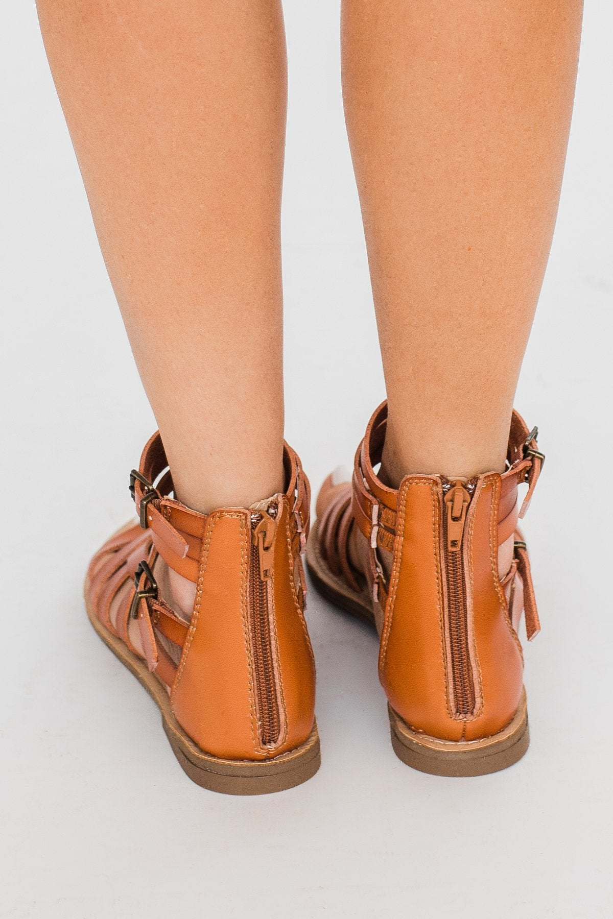 Sugar Malou Sandals- Cognac