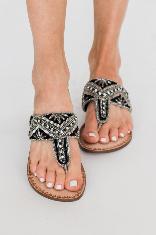 Naughty Monkey Amare Sandals- Pewter