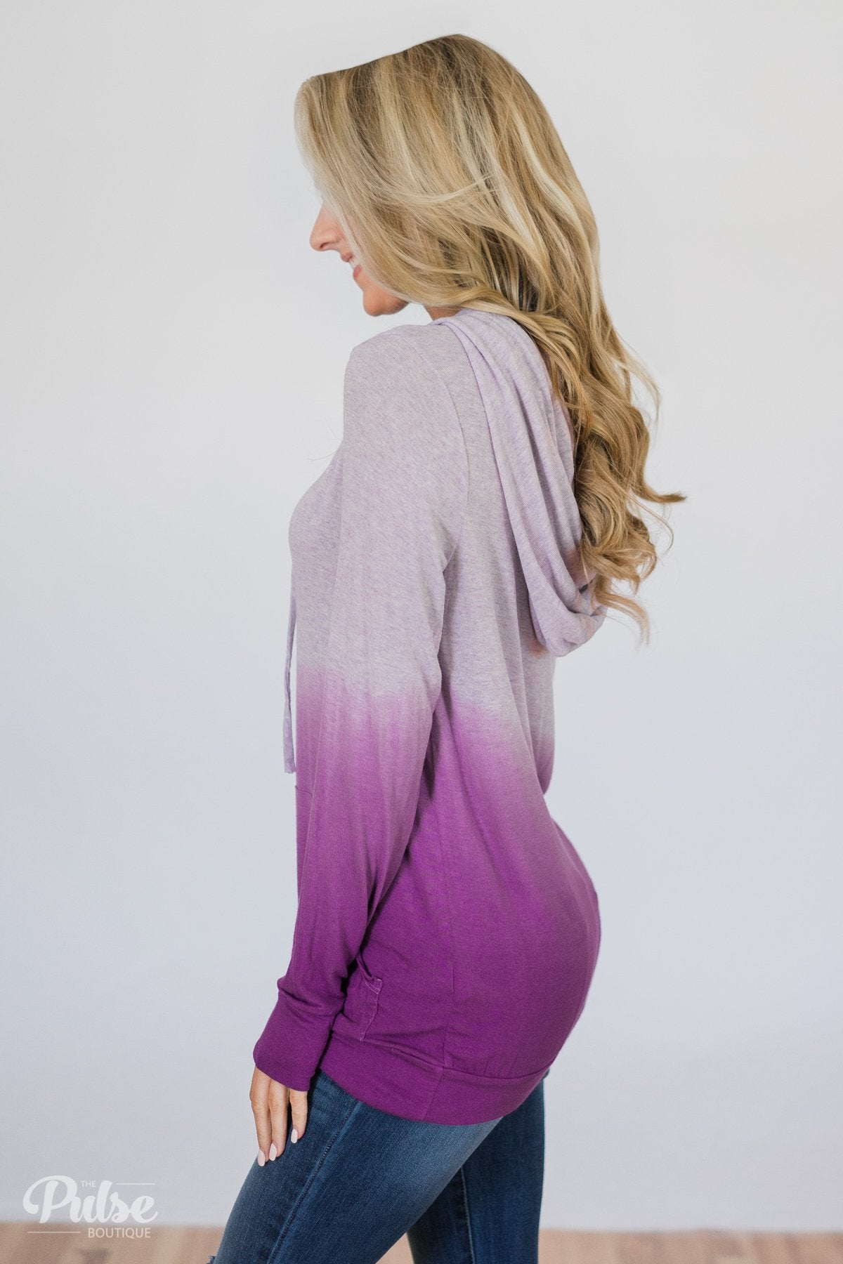 Purple Ombre Hoodie