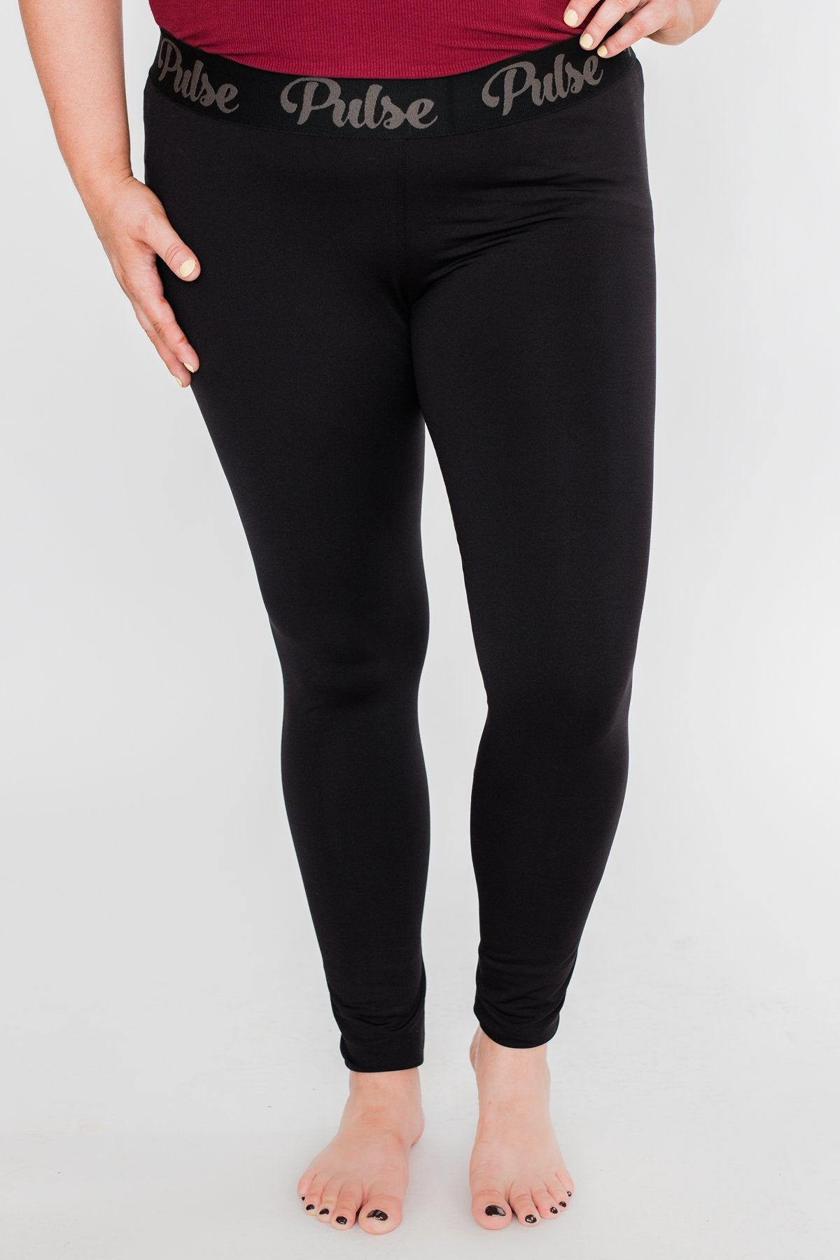 Pulse Basics Leggings- Black