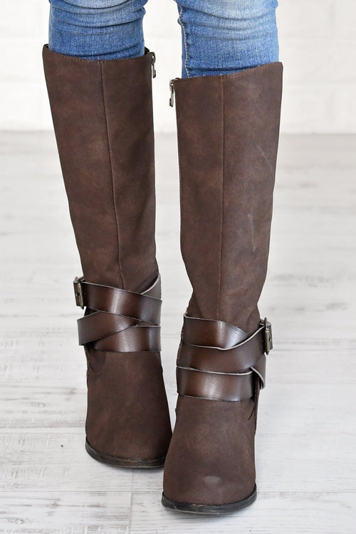 Sharpshooter Boots ~ Chocolate