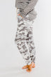 Always Cozy Camo Drawstring Joggers- Grey Camo