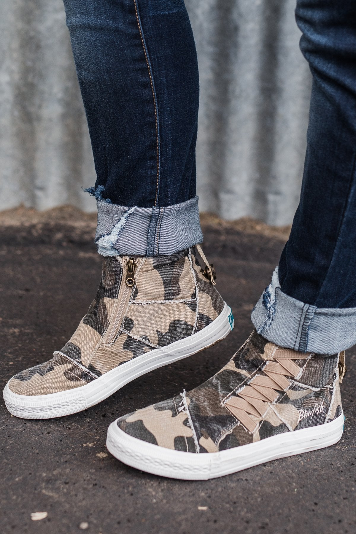 Blowfish Koala Sneakers- Camouflage