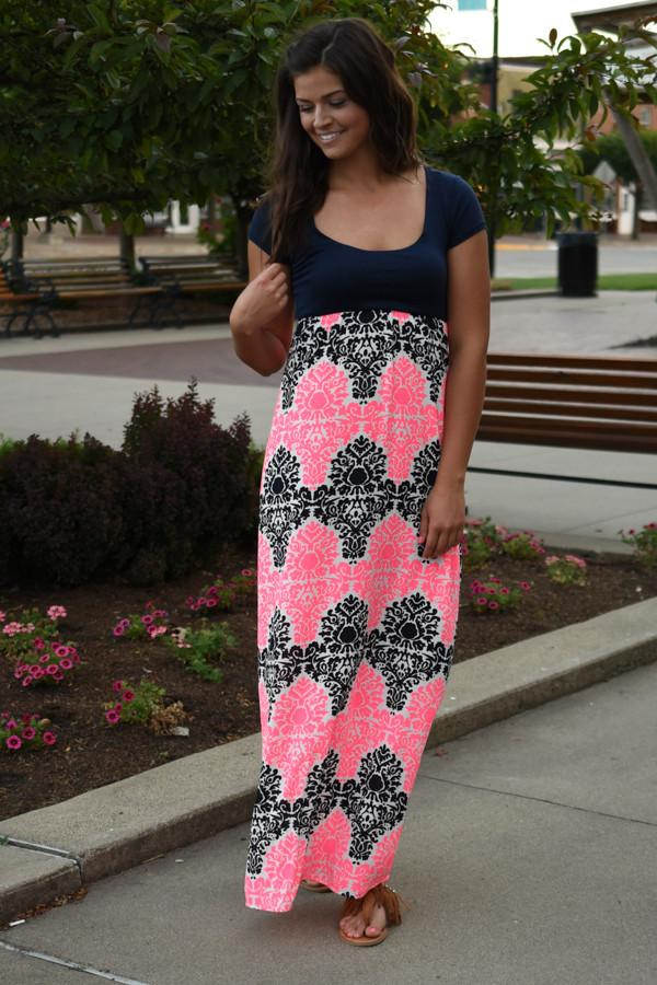 Crazy Over You Maxi Dress