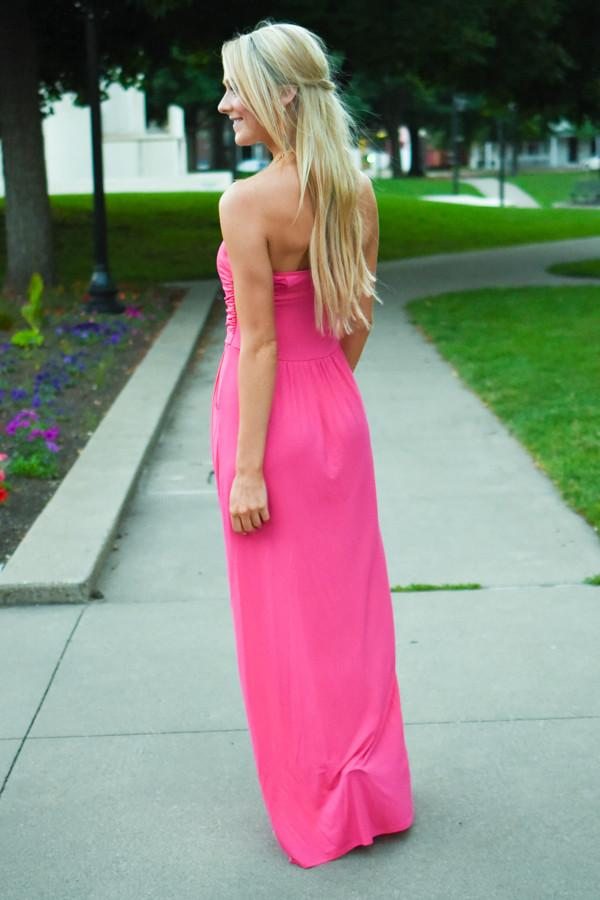 Save the Date Maxi ~ Bubblegum Pink