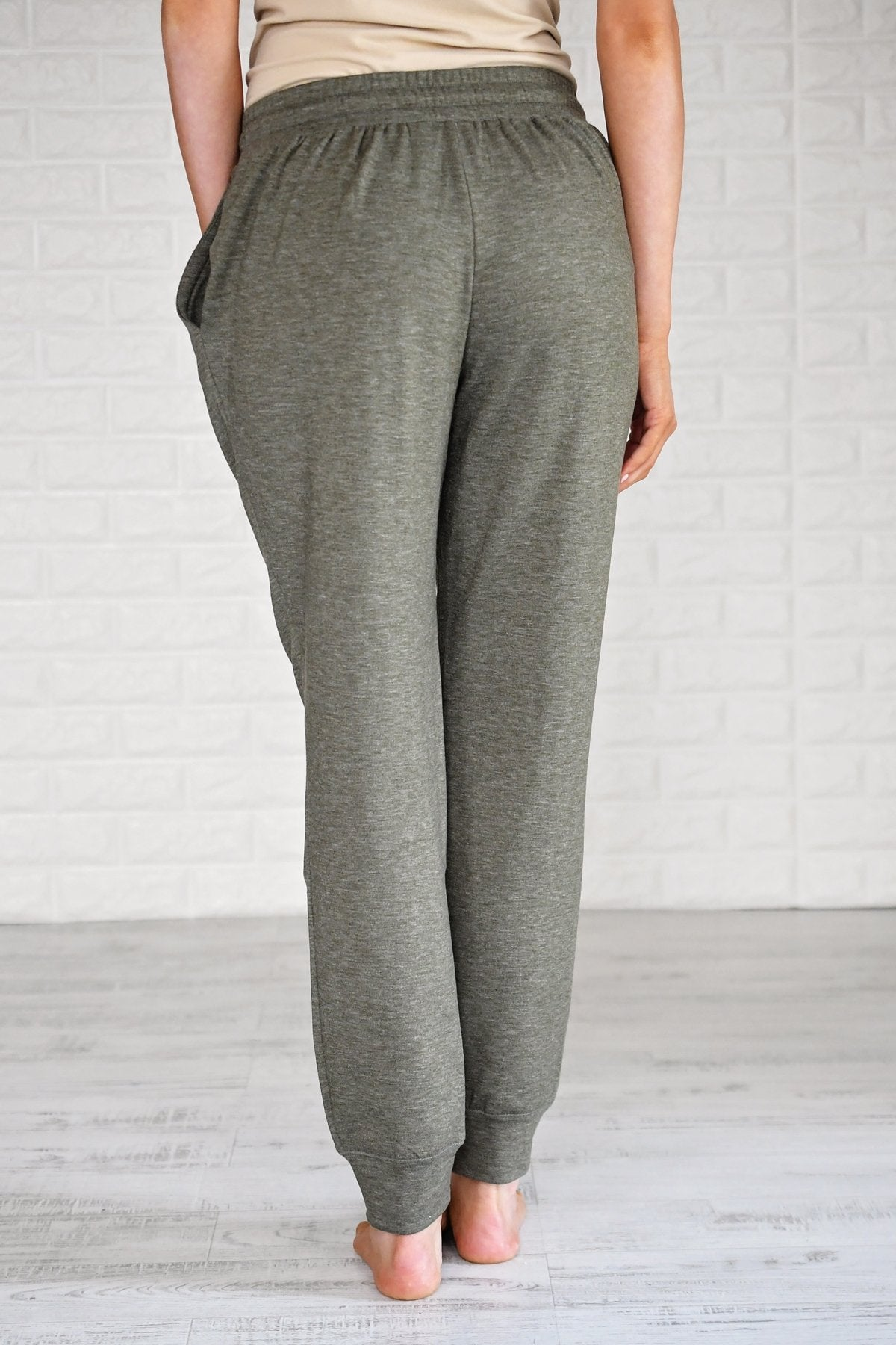 Coziest Joggers Ever ~ Olive