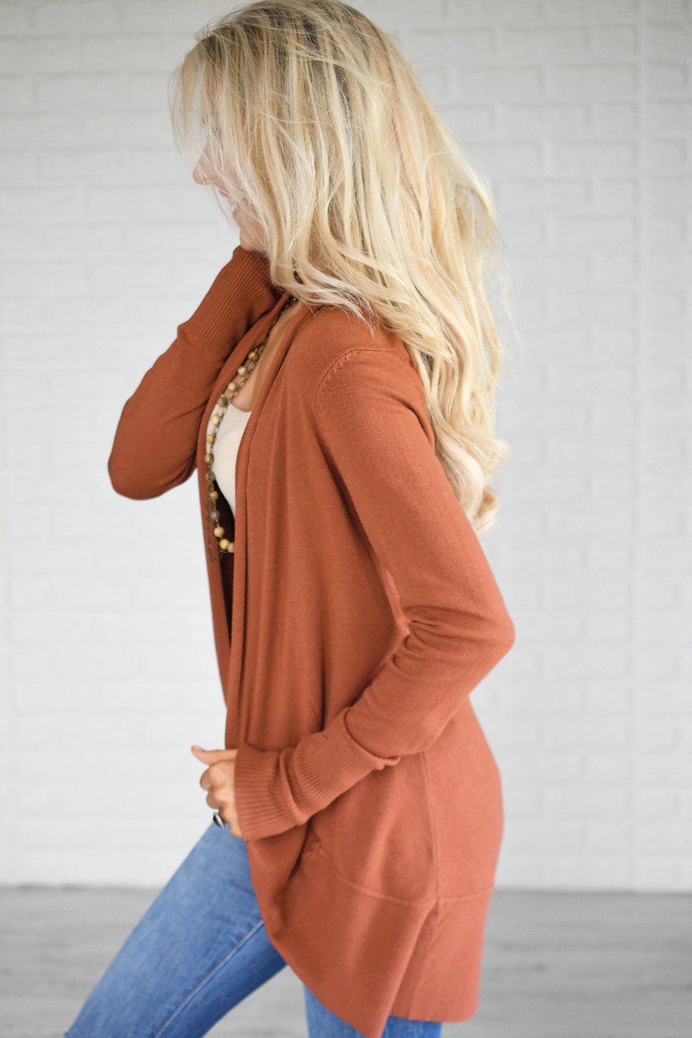 Burnt Clay Cardigan