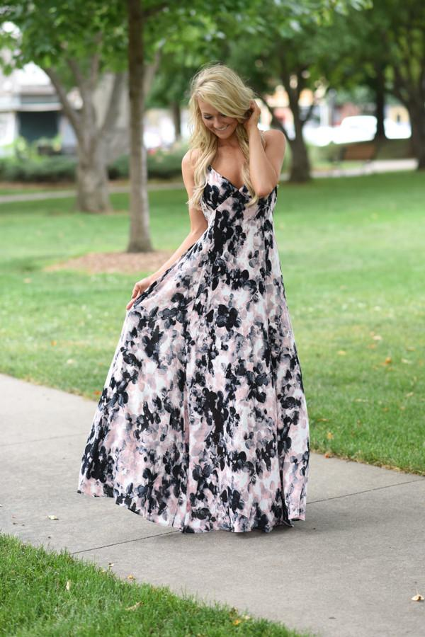 In the Cards Maxi Dress