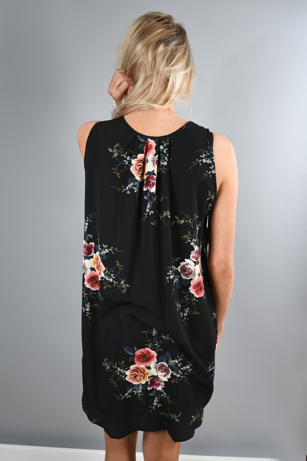 Find a Reason Floral Sleeveless Dress
