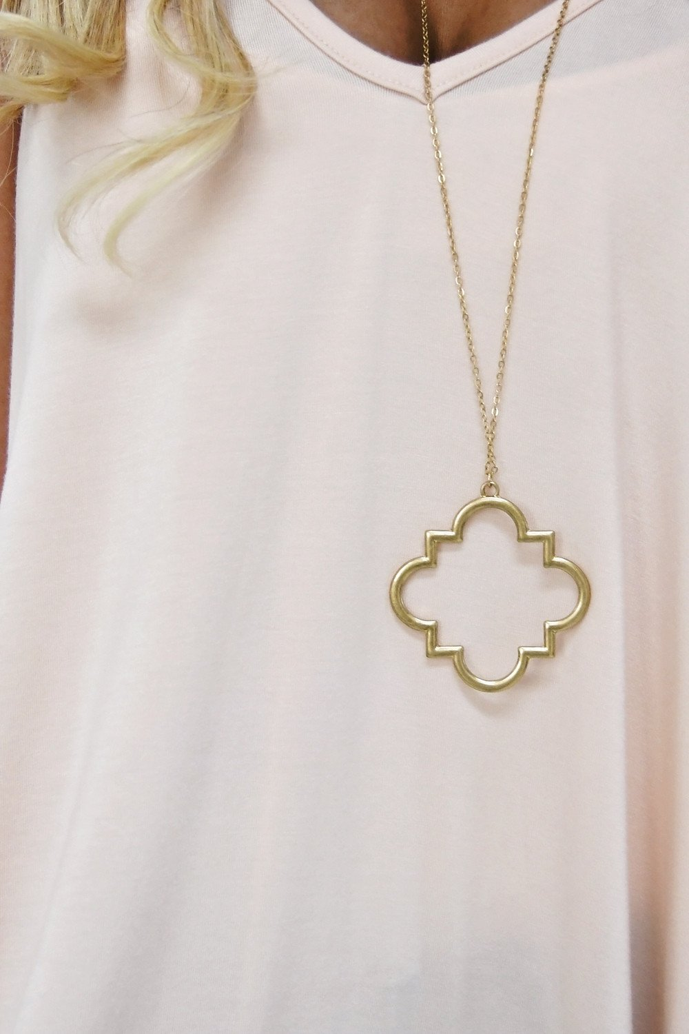 Geo Necklace - Gold