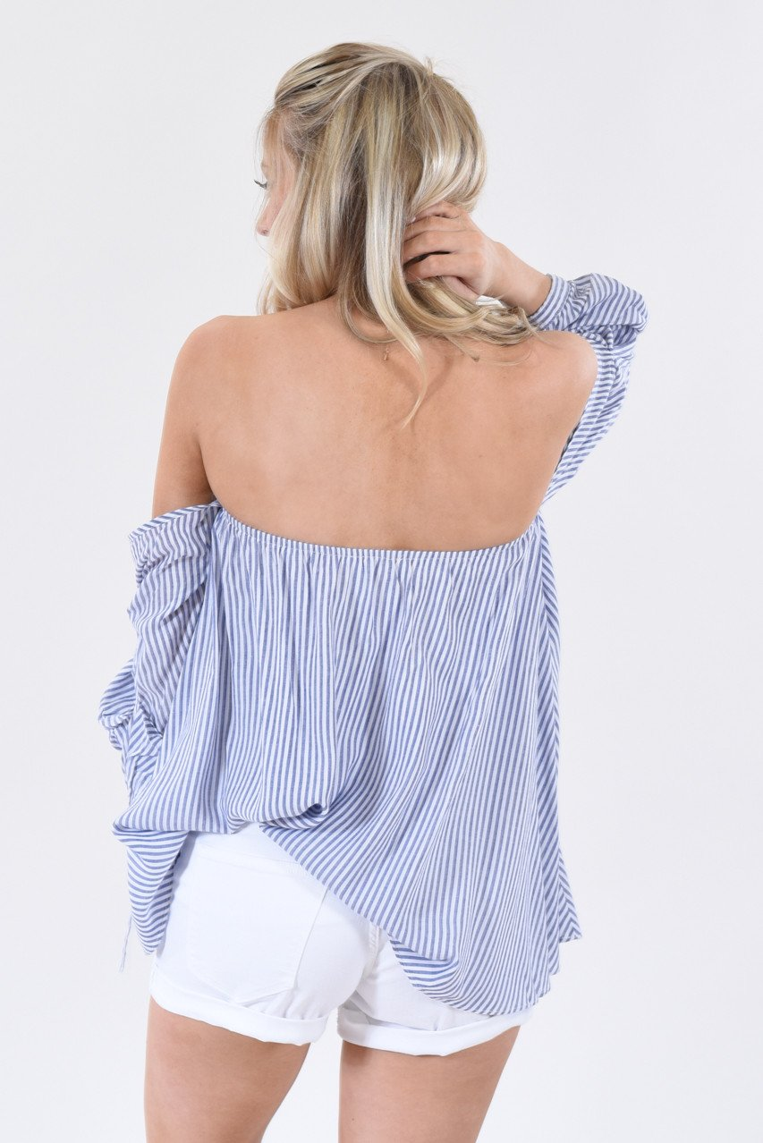 Summer Breeze Off the Shoulder Top