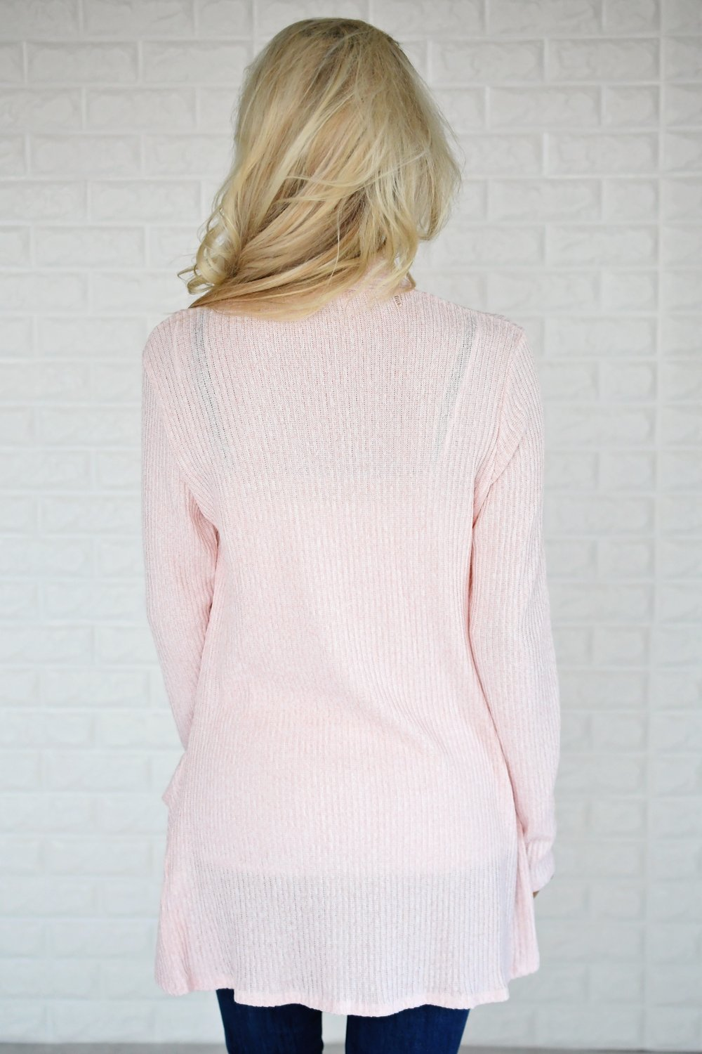Fade to Blush Cardigan