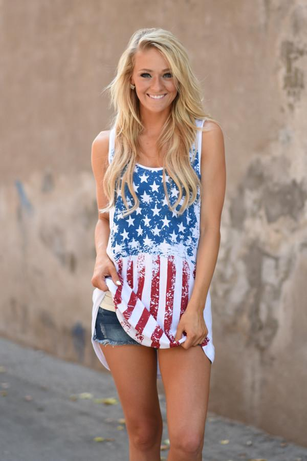 Feels like Freedom Tank Top