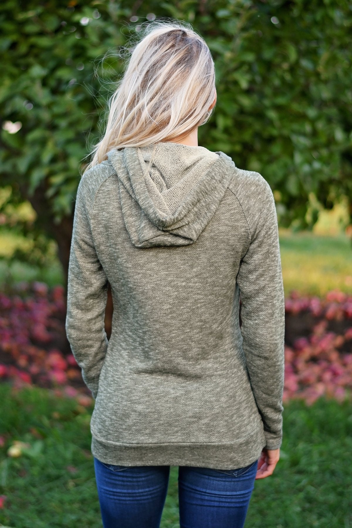 Ampersand Ave. Hoodie ~ Olive