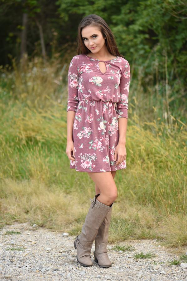 Everly ~ Floral Dress