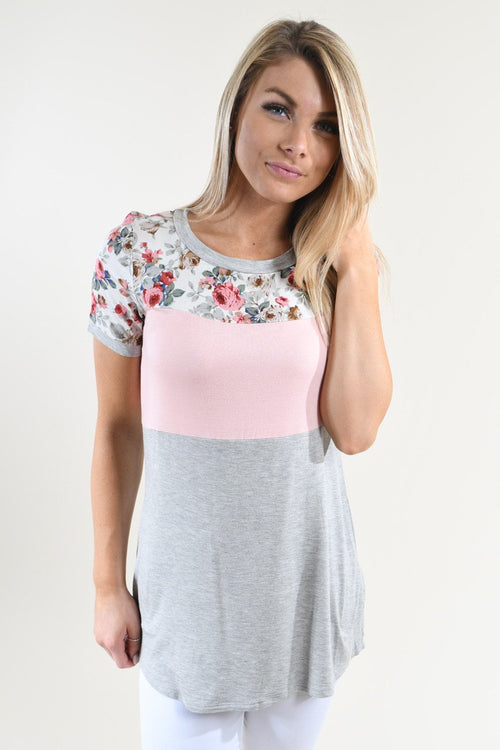 Too Cute to Handle Top ~ Light Pink