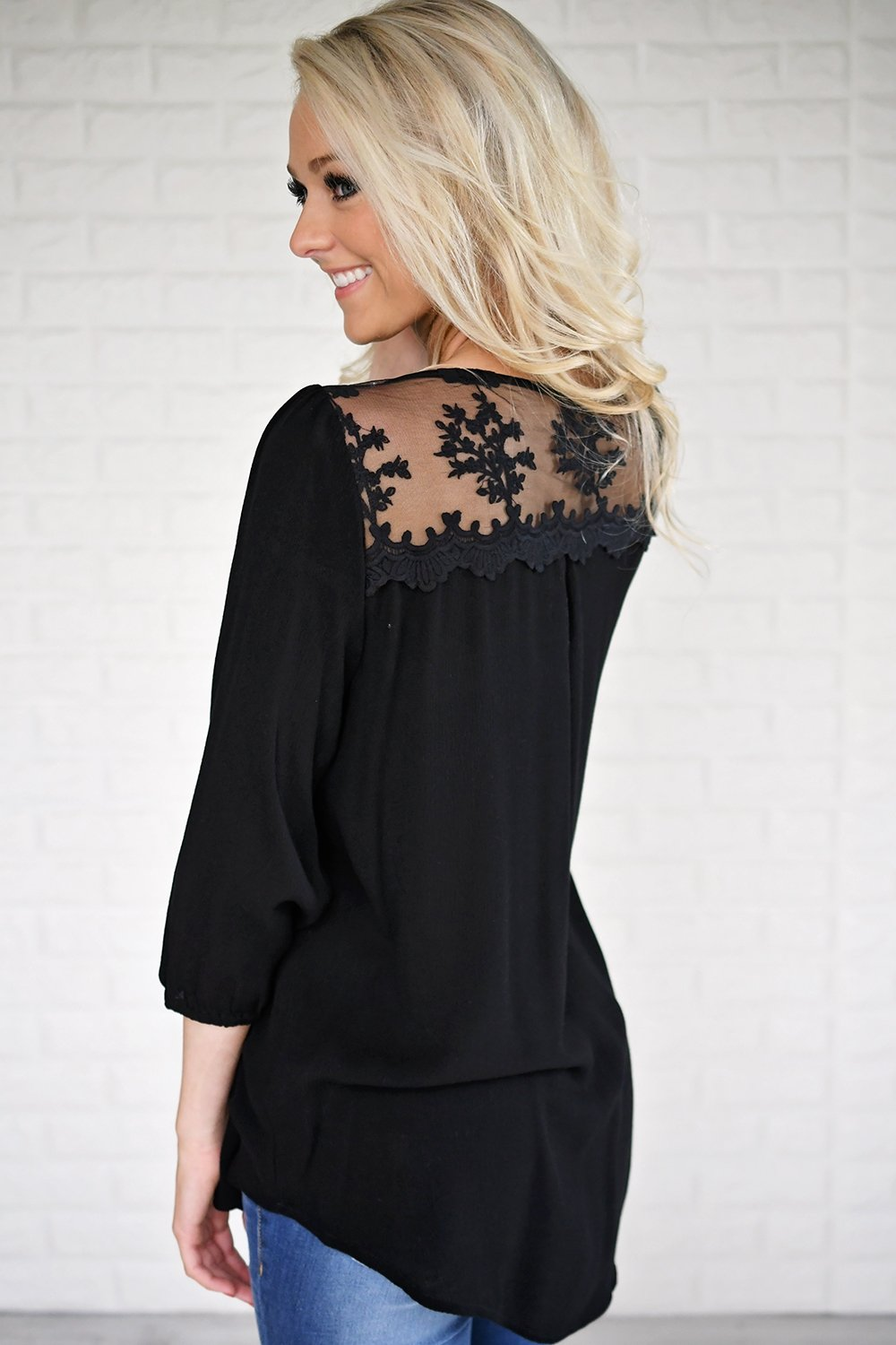 Go the Distance Lace Top