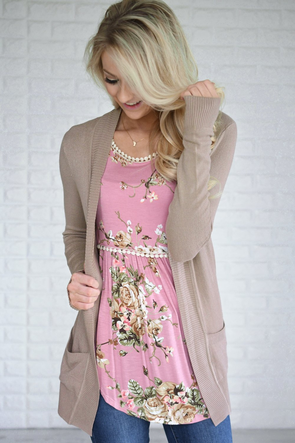 The Fundamental Cardigan ~ Taupe