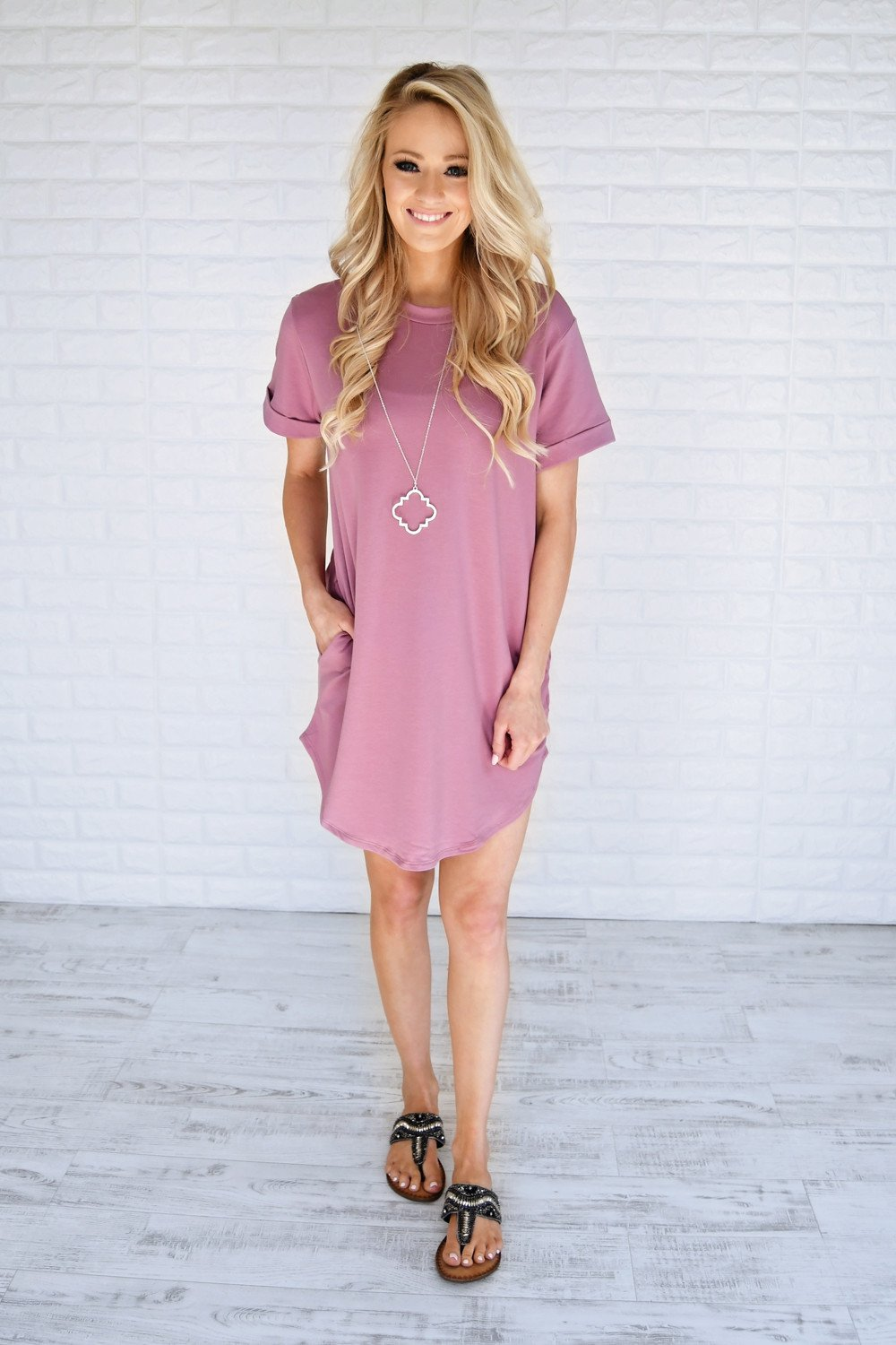 Cherish Me Tee Shirt Dress