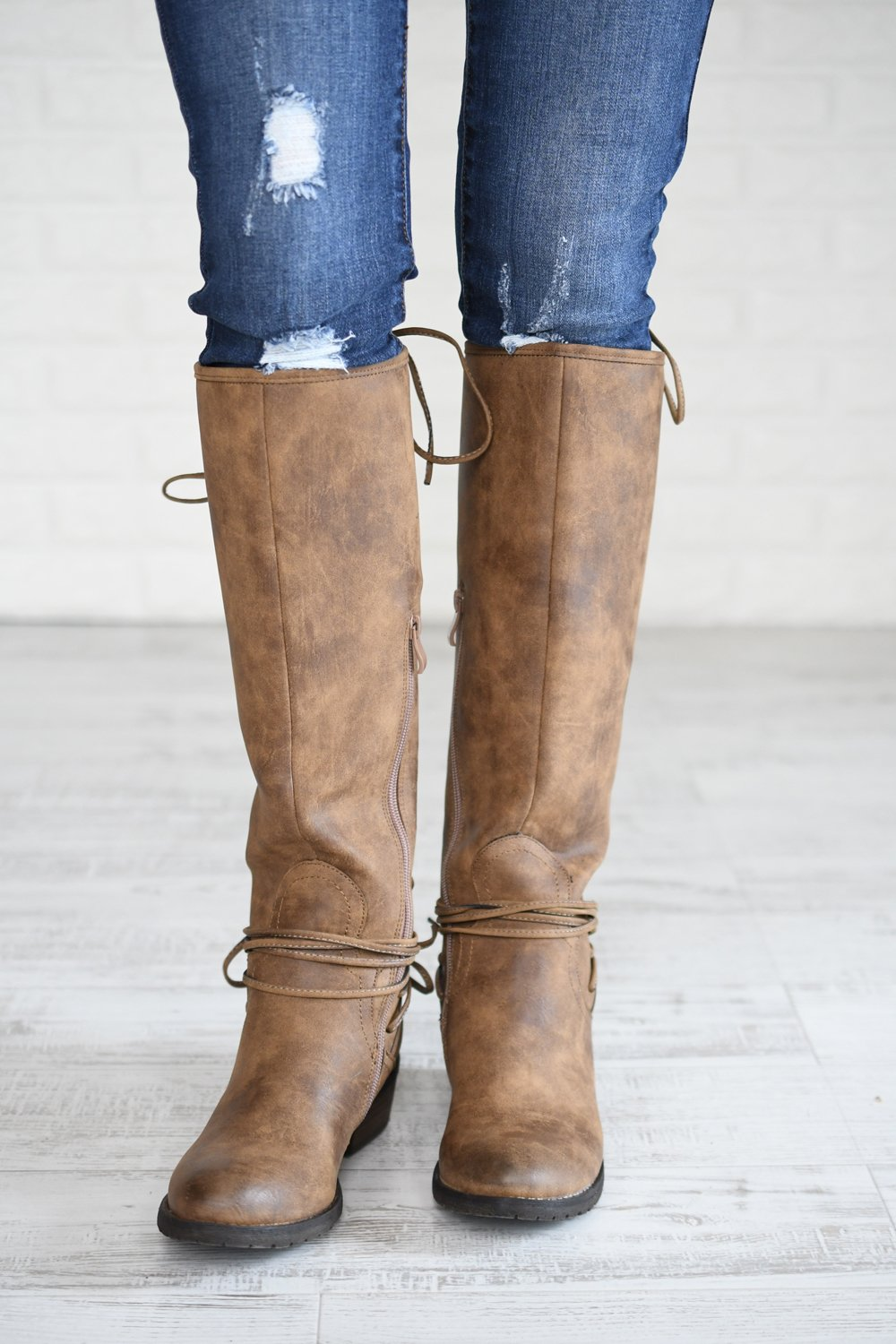 The Marcelina Boot ~ Tan