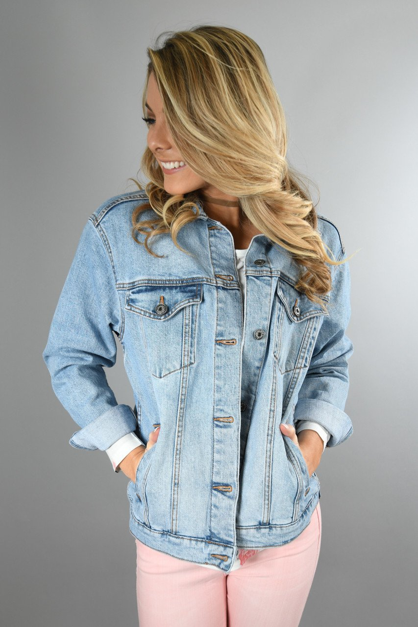 Sneak Peek Denim Jacket