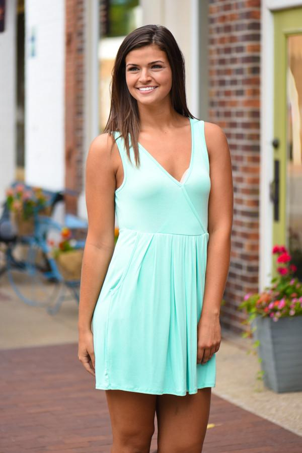 Easy Does it Mint Dress