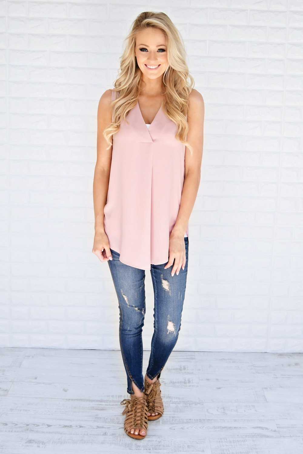 Casual Charm Tank Top
