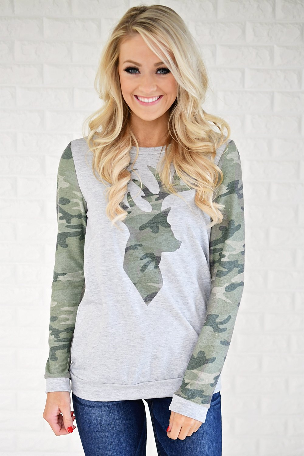 Camo is My Favorite Color Sweater