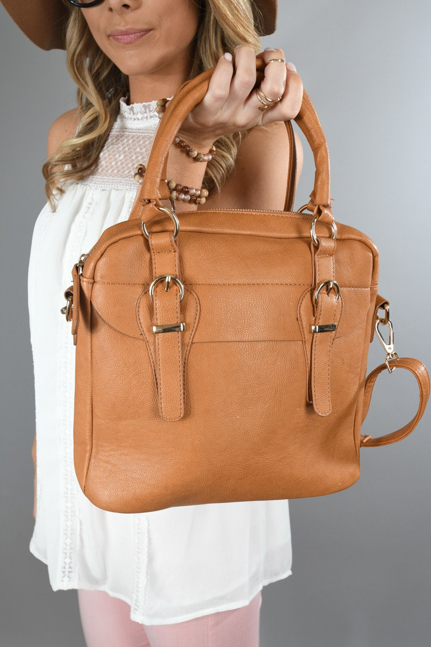 Goes With Everything Brown Purse