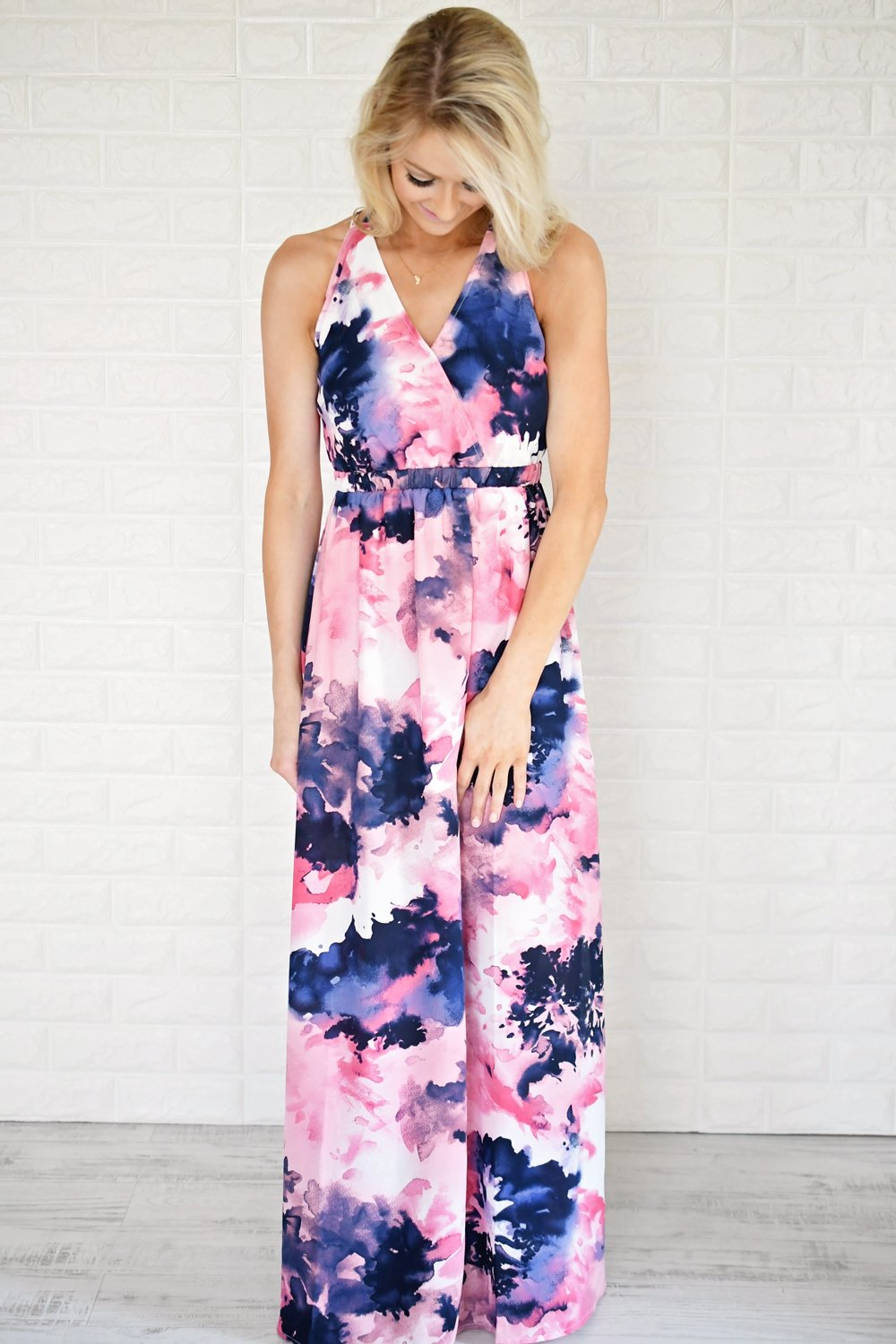 Magical in Mauve Maxi Dress