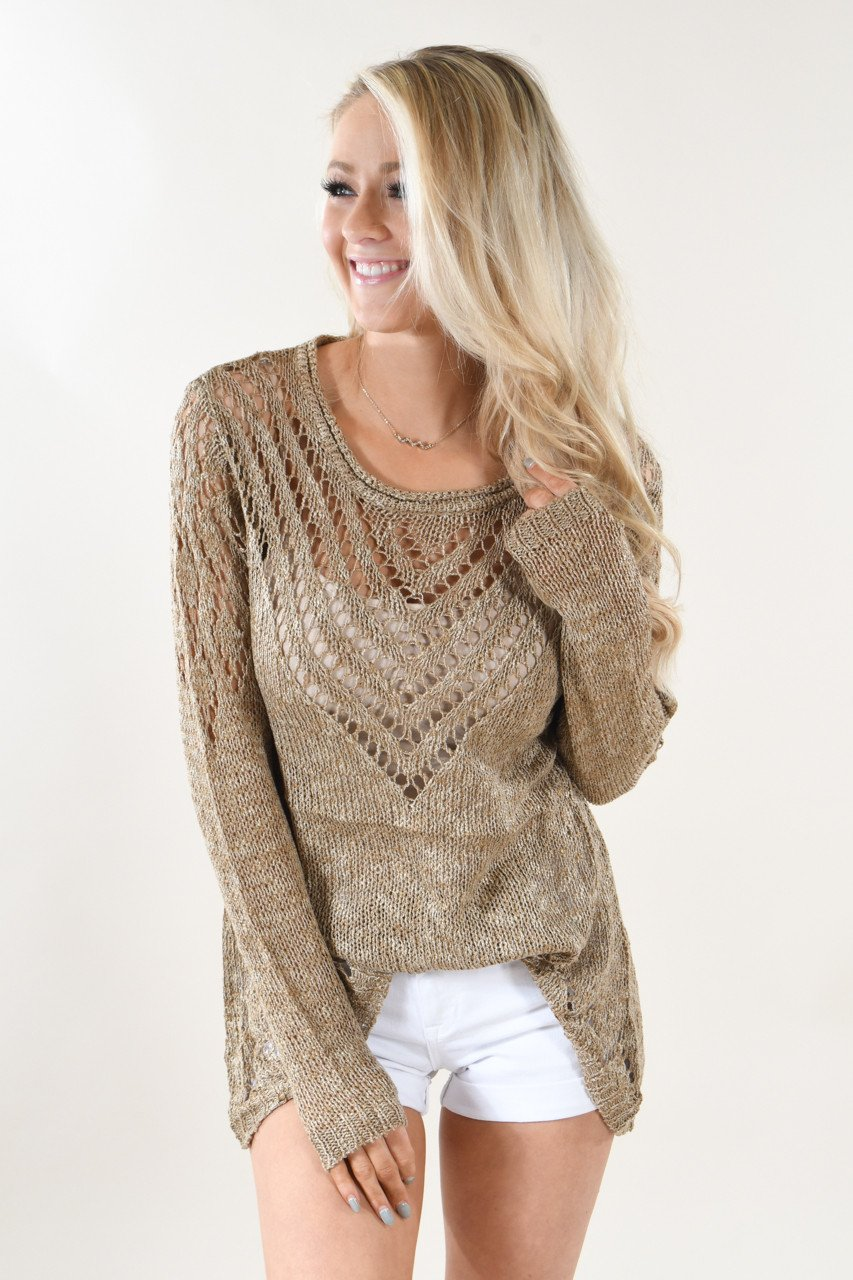 Knit Brown Sweater