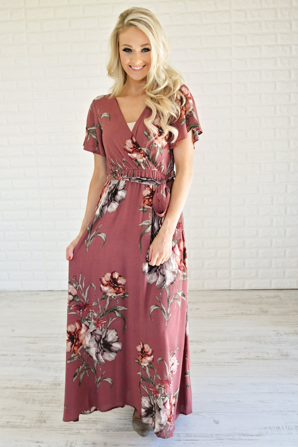Budding Romance Maxi Dress