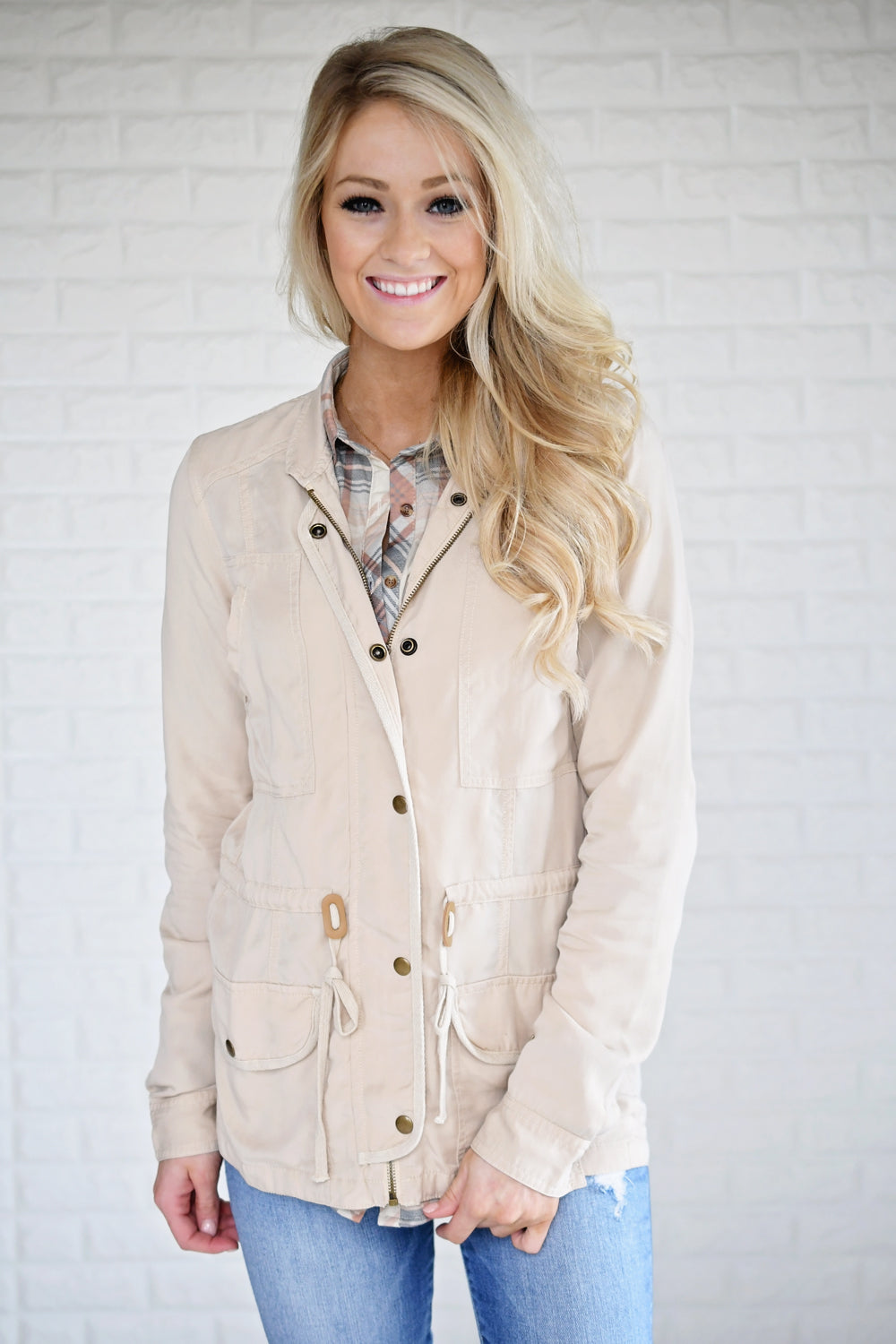 Essential Camel Jacket